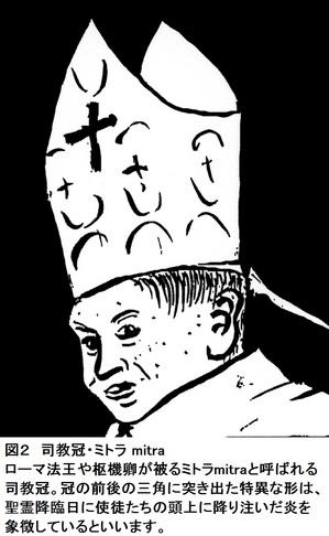 ローマ法王,帽子,名前